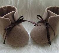 手工婴儿棉鞋做法 宝宝手工棉鞋制作图解