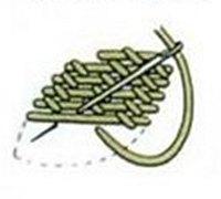 苏绣基本针法图解 苏绣的刺绣针法