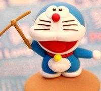 软陶机器猫制作教程 哆啦a梦软陶人偶制作图解