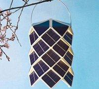 符合环保理念的太阳能创意灯具