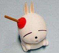 用超轻粘土做流氓兔教程图解