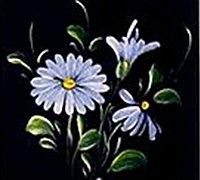 手绘花朵教程 简易彩绘花朵的画法