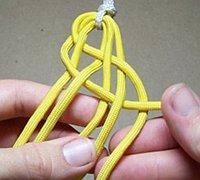六股绳的编法图解 宽版手绳编织教程