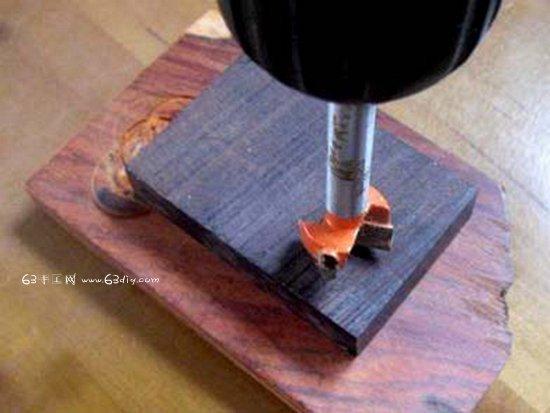 硬木diy木戒指 diy戒指雕刻手工教程