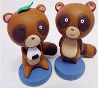 月刊少女野崎君中的小狸猫超轻粘土玩偶制作