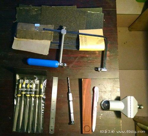 自制莫比乌斯戒指diy木雕手工教程