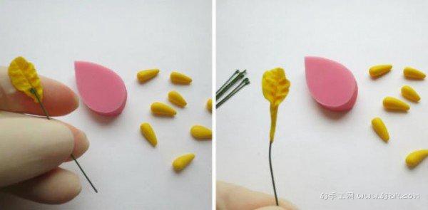 树叶子怎么做手工制作