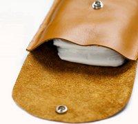便于随身携带的婴儿尿不湿的皮革袋制作教程