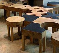 有趣的家具设计 可以拼图的创意家具