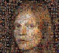 照片拼贴艺术 一组肖像拼贴艺术手工作品