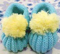 宝宝毛线鞋编织方法 毛线编织宝宝鞋图解