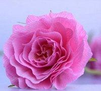 仿真纸花制作方法 皱纹纸花的做法