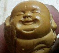 橄榄核雕刻弥勒佛教程 弥勒佛雕刻手工