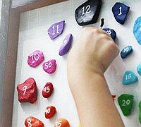 彩绘石头手工diy创意时钟教程