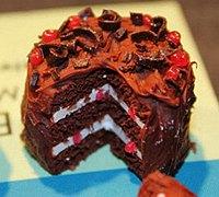 迷你小蛋糕制作 软陶蛋糕制作图片