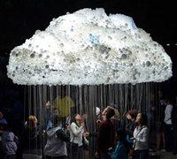 灯泡的创意设计 梦幻般的灯泡云