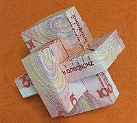 手工折纸鲁班锁 用一元钱折鲁班锁教程
