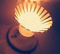 自制简易灯罩 一次性纸杯制作灯罩