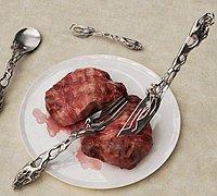 银质餐具创意设计 美感十足的巴洛克风格餐具