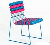 创意座椅设计 有趣的应力球拼组椅子