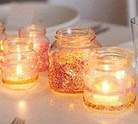 DIY浪漫温馨的烛台