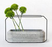 力与美完美结合的创意花瓶