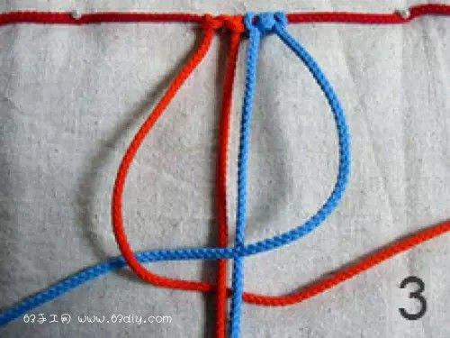 9种四股绳的编法图解