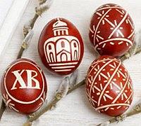 复活节彩蛋浸染彩绘diy教程