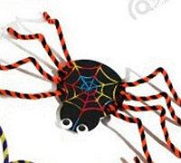 毛根制作蜘蛛和甲壳虫创意diy