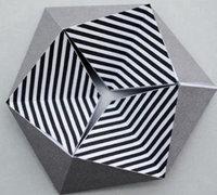 3D立体翻转魔术折纸玩具