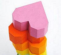 几何风格的心形礼品盒制作方法