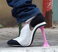 另类的高跟鞋创意设计 推翻我们的认知
