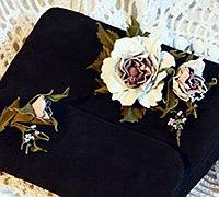 皮革制作逼真牡丹花教程