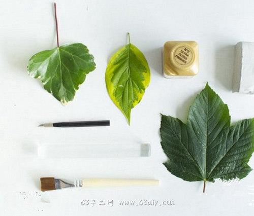 简单逼真的粘土枫叶制作教程