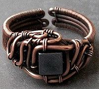极致手工艺之金属丝绕线首饰作品(5)