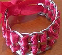 易拉罐拉环手工制作个性手链