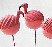 可爱的火烈鸟软陶玩偶手工制作