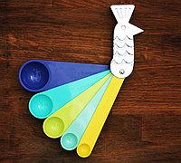 创意孔雀量匙 会孔雀开屏的汤匙