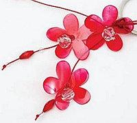 塑料瓶变废为宝制作精美的花朵挂坠