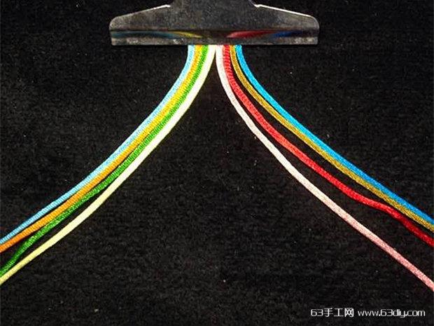 编绳手工 > 八股辫,八股绳的编法图解      一直比较喜欢那些用绳子编