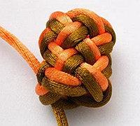 菠萝结怎么编 五边菠萝结的编法图解