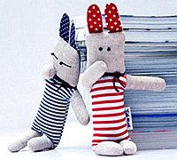 diy布艺小兔子玩偶图纸和制作方法