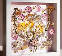押花画的制作流程 干花装饰画教程