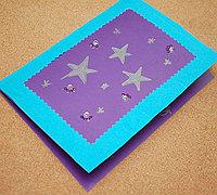 简单漂亮的教师节小星星贺卡制作图解