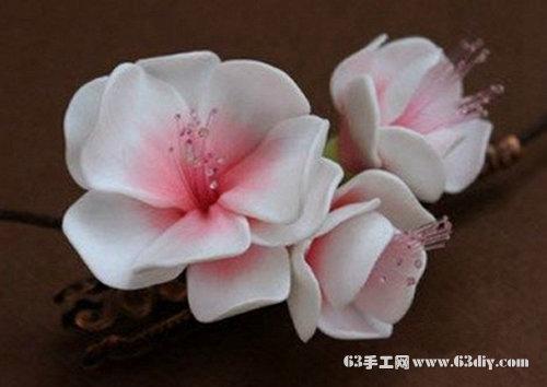 软陶花朵制作教程