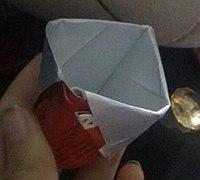 空牛奶盒制造简易水杯