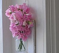 创意花瓶diy 让花开在墙壁上