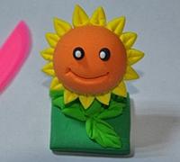 植物大战僵尸之向日葵软陶制作图解