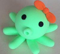 可爱的小八爪鱼玩偶的粘土制作方法