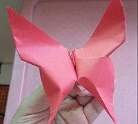 可爱的小蝴蝶折纸教程